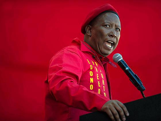 EFF leader, Julius Malema
