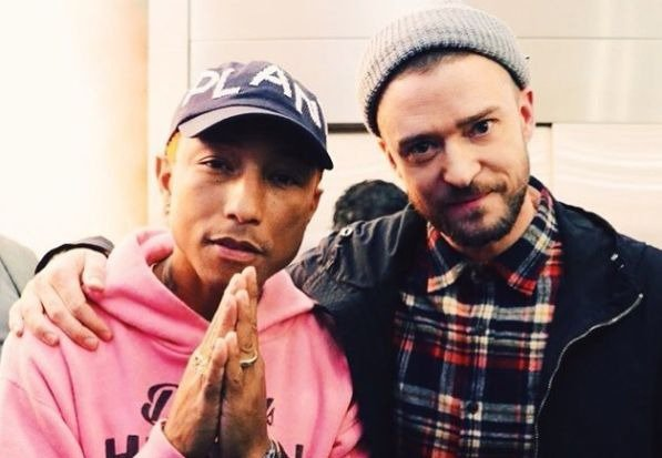 Justin Timberlake Pharrell Williams