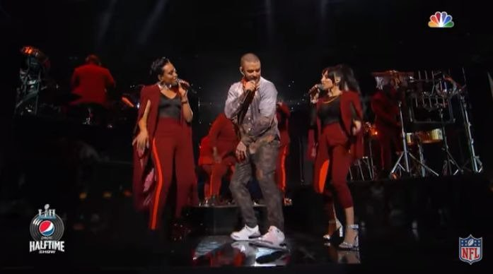 Justin Timberlake Super Bowl performance