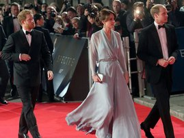 Kate Middleton at James Bond Primiere