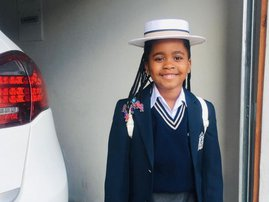 Kelly Khumalo's daughter Thingo