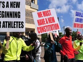 Kenya athletics