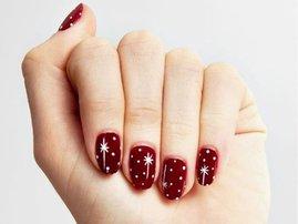 Keri's festive nails