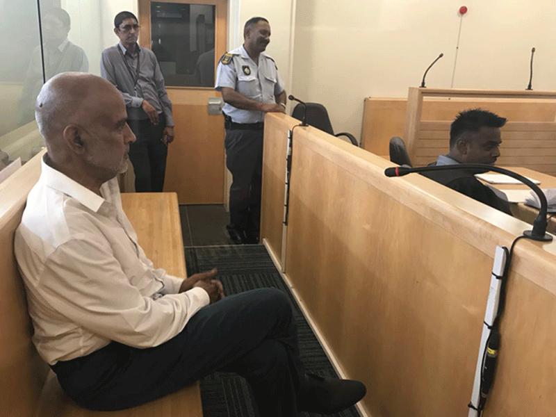 Kessie Nair's bail application in Verulam Mag Court