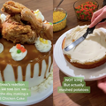 WATCH: Internet reacts to horror cake made of fried chicken and mash