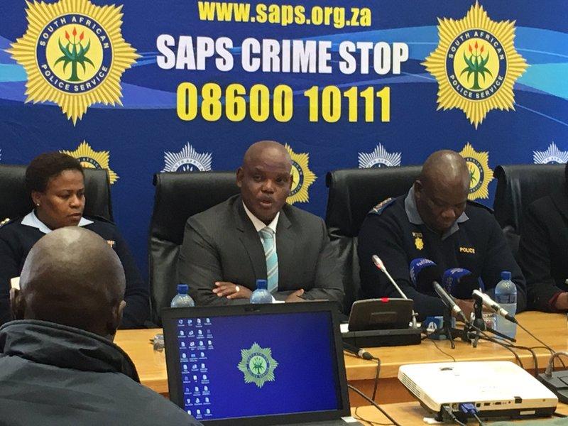 Kgomotso Phahlane at press briefing_jacanews