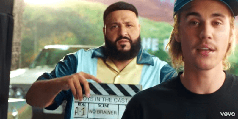 DJ Khaled 'No Brainer'  ft Justin Bieber, Quavo, Chance the Rapper