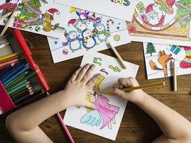 Drawings, school, school children