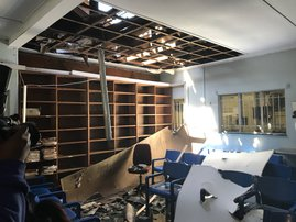 Damage caused at King Edward Hospital