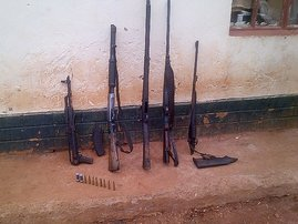 Kranskop woman found with rifles, arrested