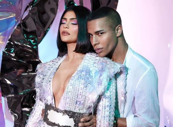 Kylie Jenner and Olivier from Balmain