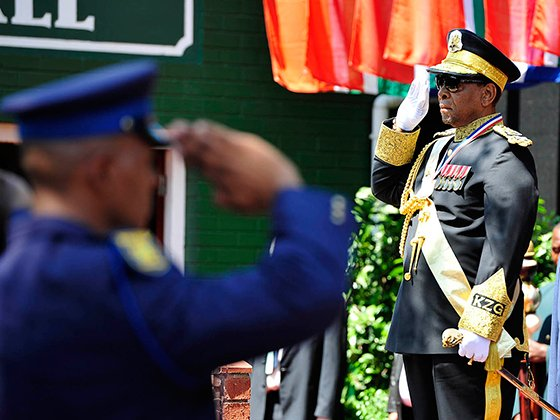 King Goodwill Zwelithini, opening of KZN legislature