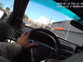 las vegas police chase