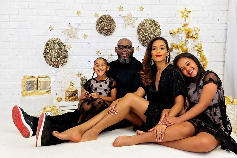 LeAnne Dlamini and her family