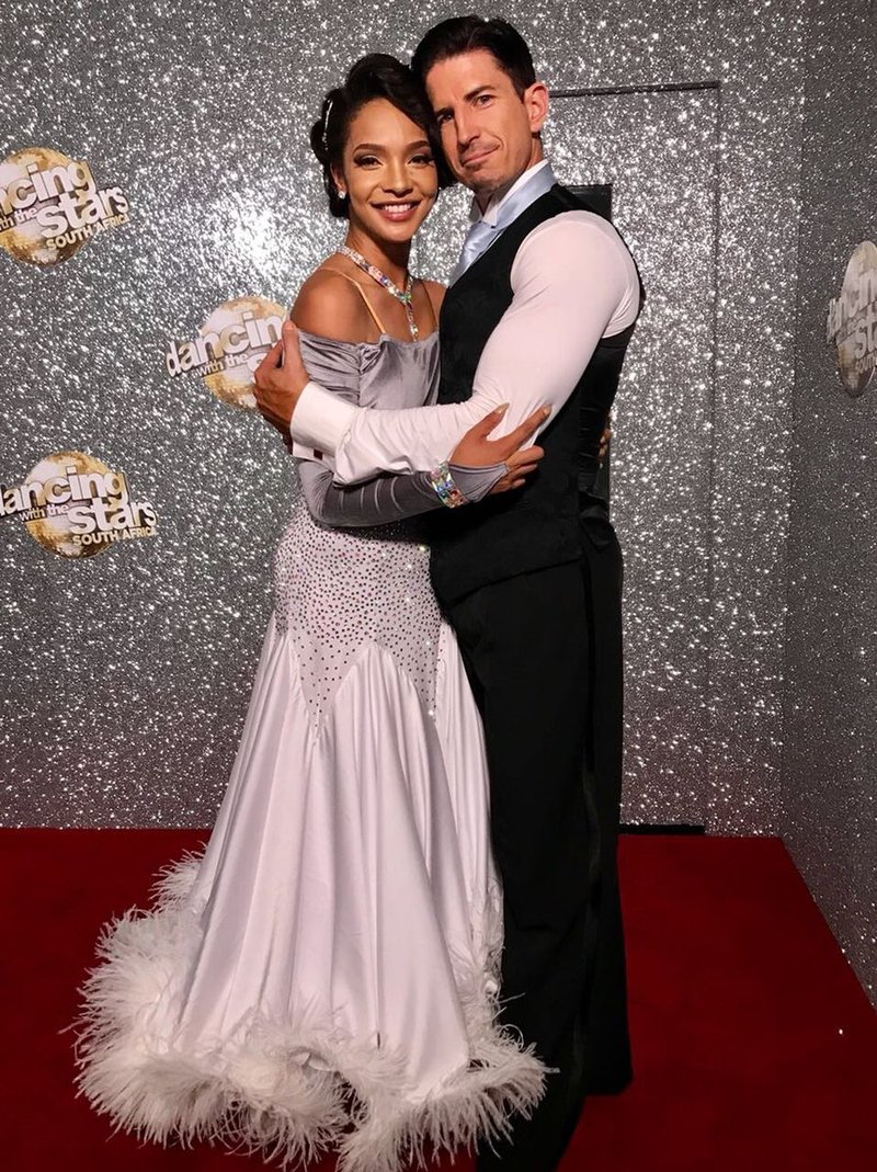 liesl image with partner ryan hammond dancing