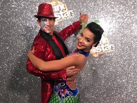 liesl laurie image quick step funy dancing