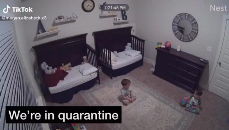 little boys in quarantine
