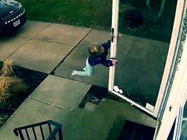little girl blown away