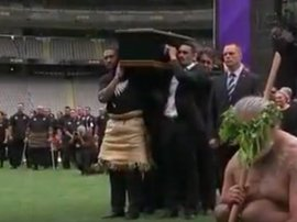 Jonah Lomu funeral_video