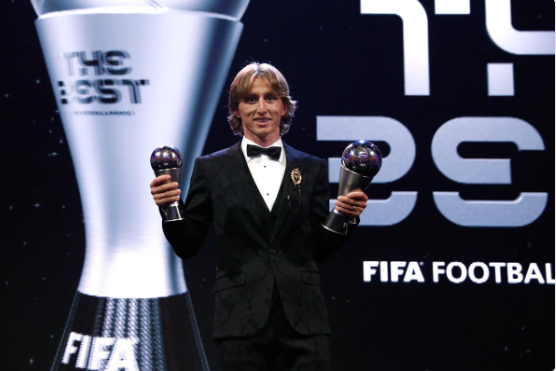 e4f8c4f3f80 Modric ends Ronaldo-Messi era to be crowned world s best