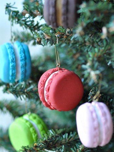 Macaroon ornaments