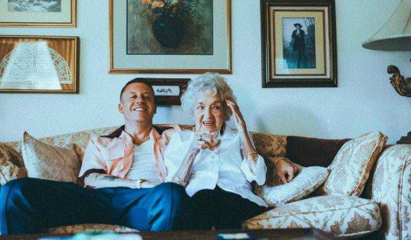 Macklemore grandma Helen 100th birthday