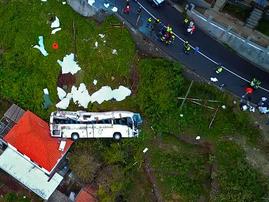 Madeira bus crash