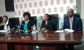 Thuli Madonsela press briefing