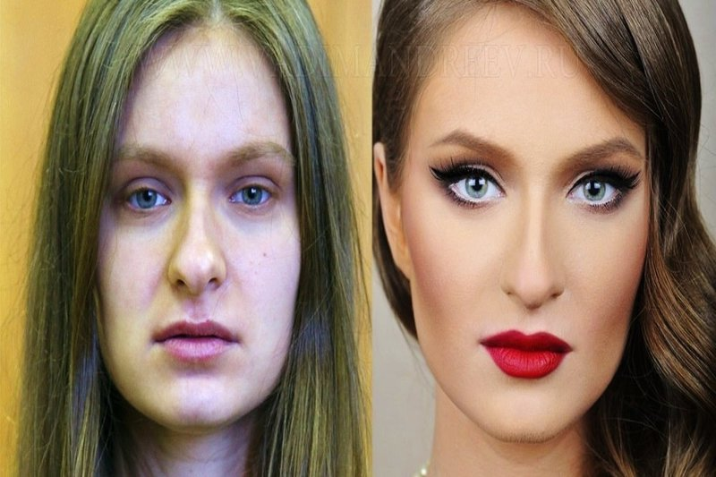 make up illusion