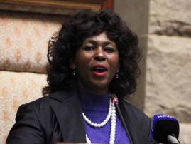 Makhosi Khoza in Parliament