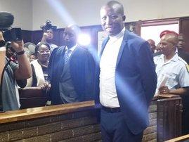 Julius Malema in Bloemfontein Regional Court