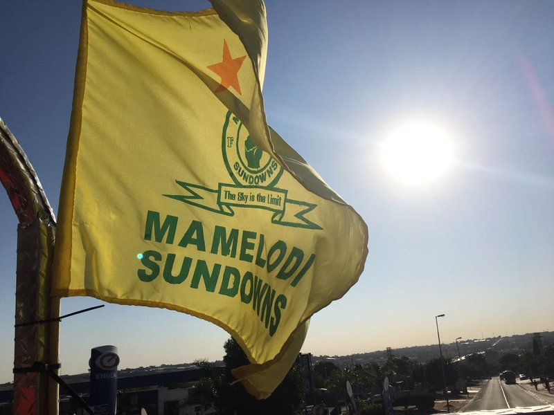 Mamelodi Sundowns flag_jacanews