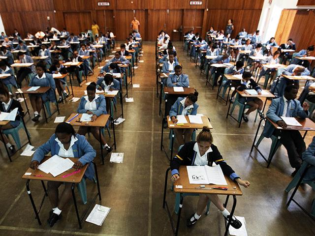 Matric final exams
