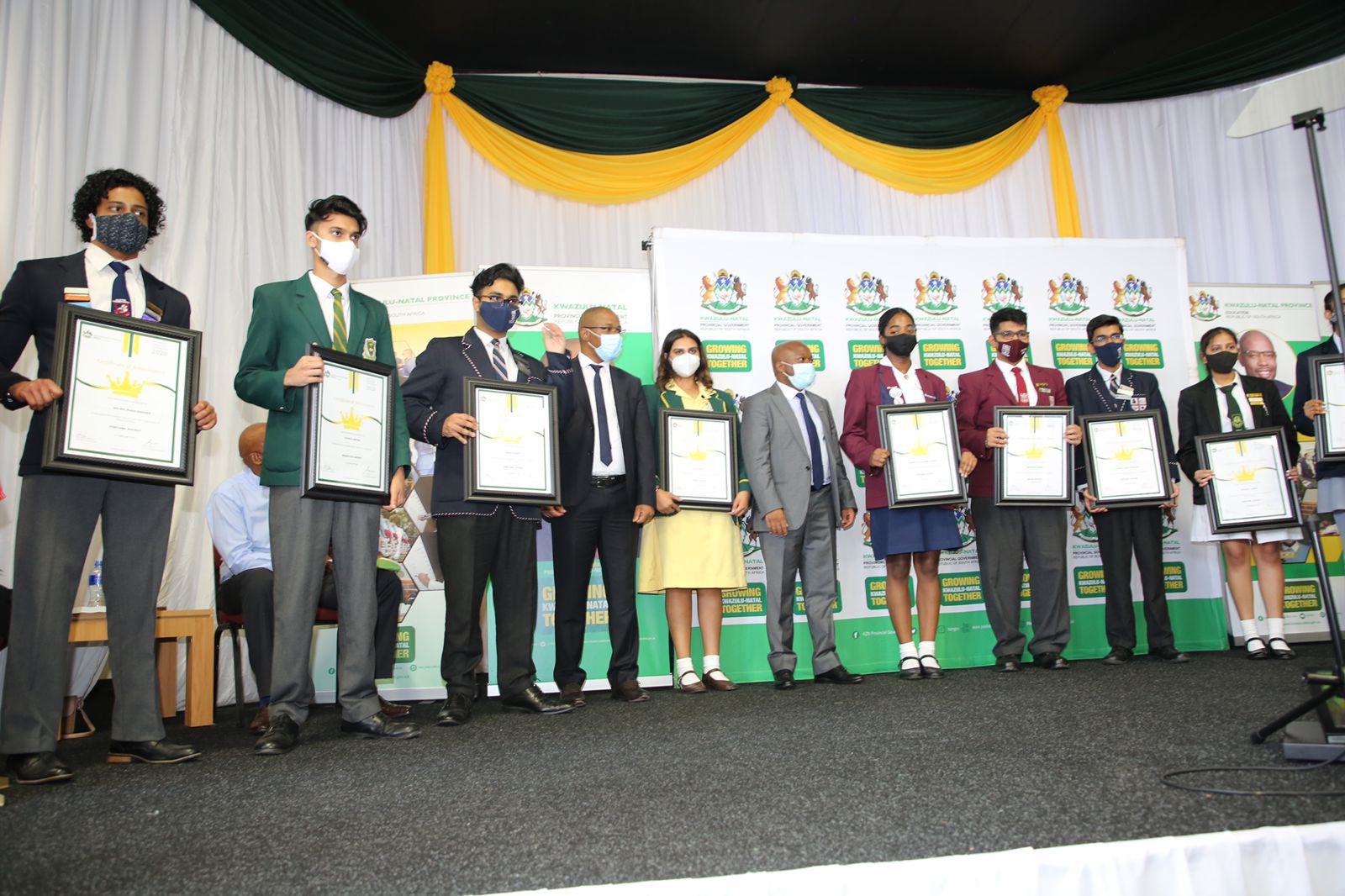 matric top learners
