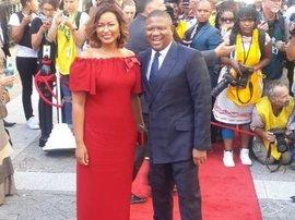 Fikile Mbalula, wife