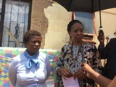 MEC visits shack fire tragedy family