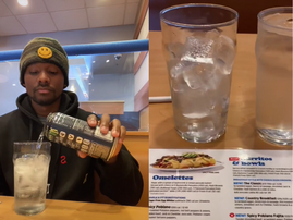 WATCH: Table for one, is eating alone really looked down upon that much?