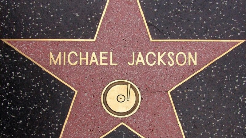 Michael Jackson Hollywood Star