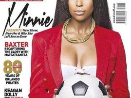 Minnie Dlamini Kick Off Cover