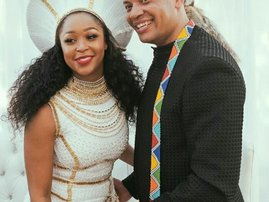 Minni Dlamini wedding Insta
