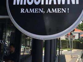 Misohawni signage