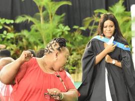 Mom celebrates UKZN graduate