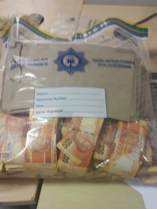 KZN man caught with R10m at Cape Town airport