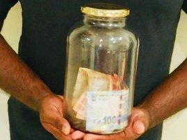 Savings jar / Justin James