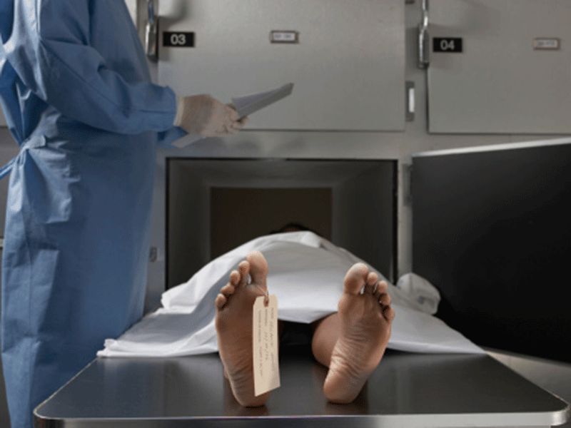 Woman found alive inside morgue fridge after being declared dead