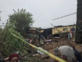 Mother, daughter (2) die in Chatsworth home collapse