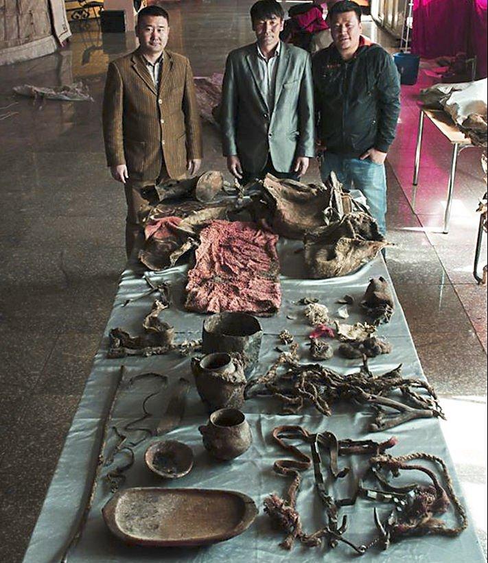 Mummfied belongings