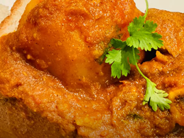 Mutton bunny chow