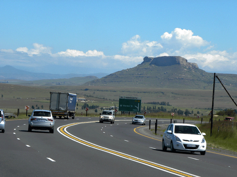 N3 Toll Route, Harrismith