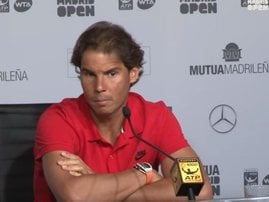 Rafael Nadal Madrid Open_video